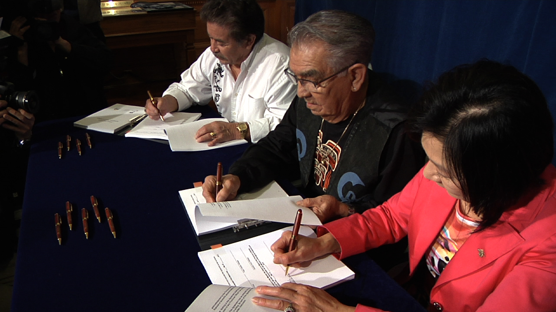 Agreements with the Ditidaht and Pacheedaht First Nations