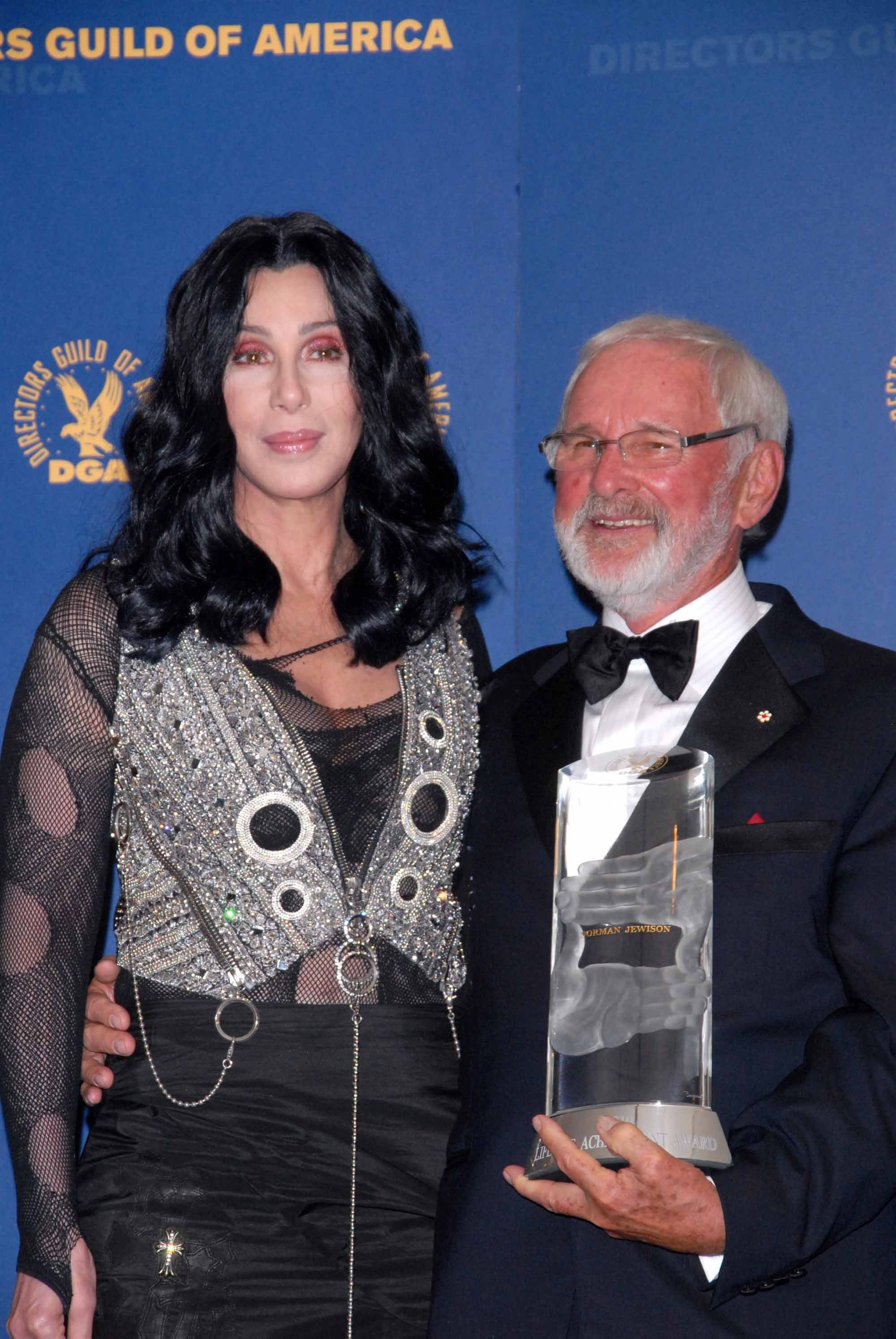 Norman Jewison and Cher