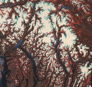 Glaciers, NW British Columbia