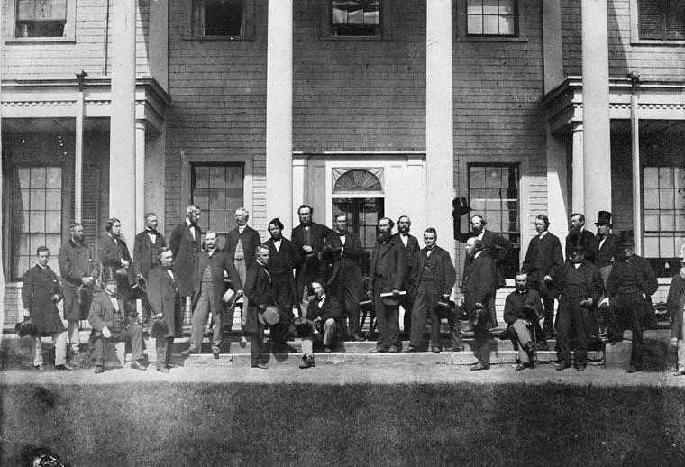 Délégués à la Conférence de Charlottetown