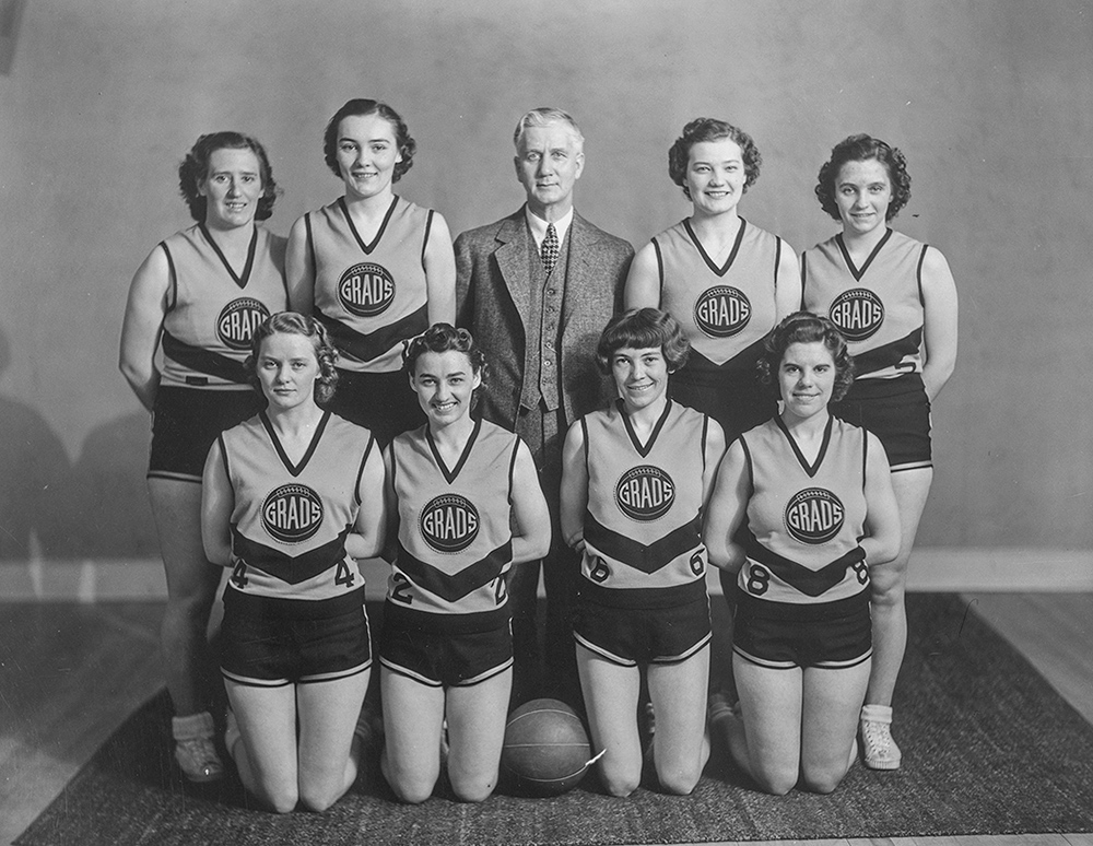 Edmonton Grads, 1940