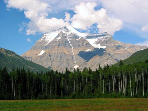 Le mont Robson