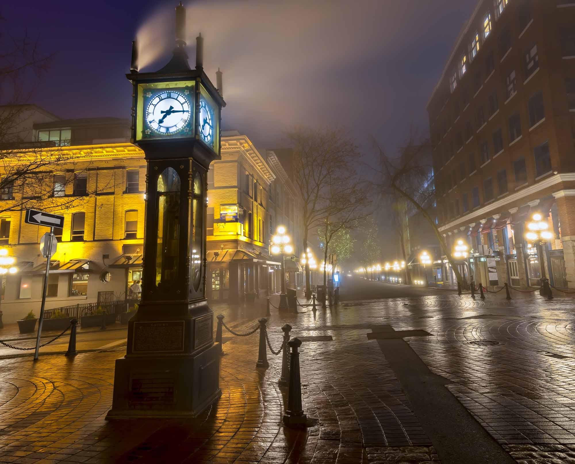 Horloge à vapeur de Vancouver