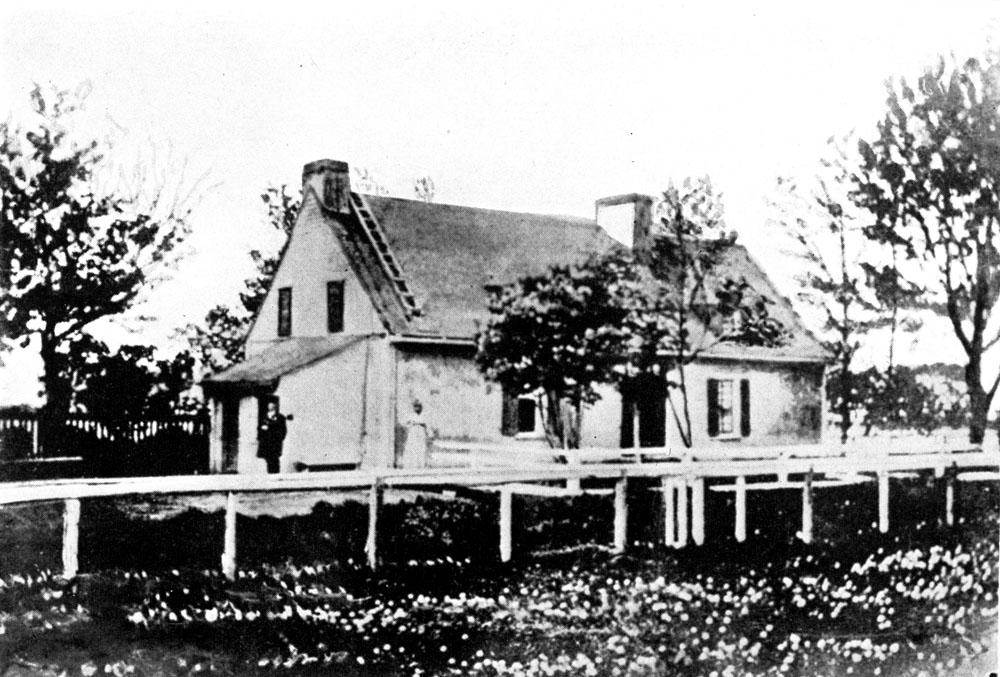 Le manoir de Pierre Boucher à Boucherville