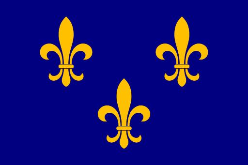 Drapeau des Franco-Américains de Haute-Louisiane