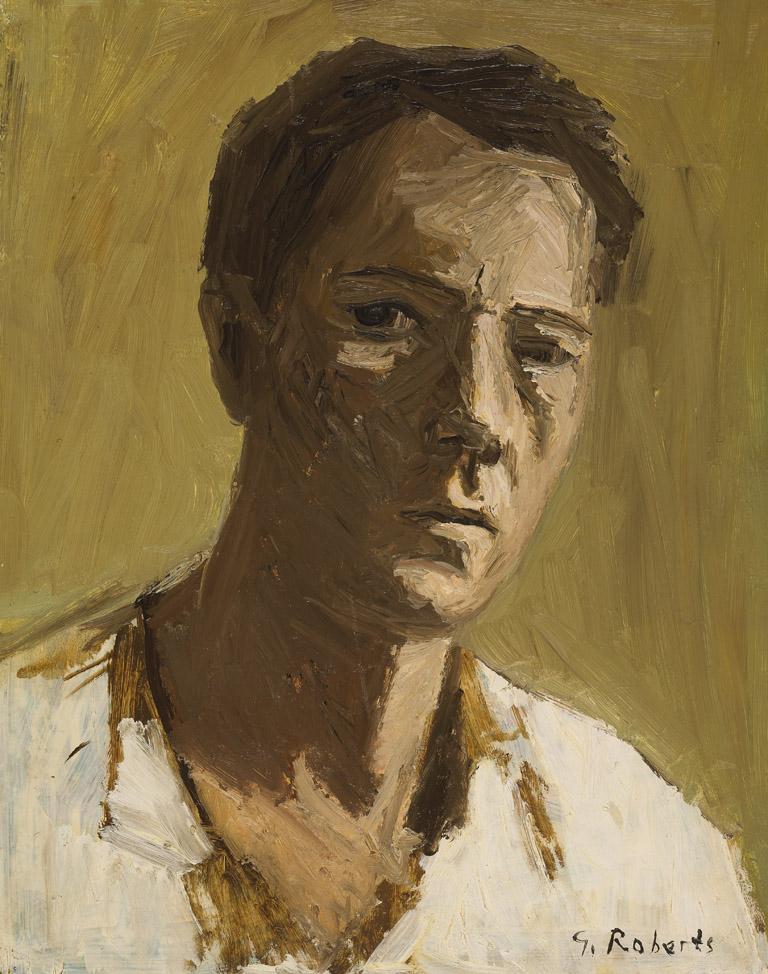 Goodridge Roberts, Autoportrait, v. 1950.