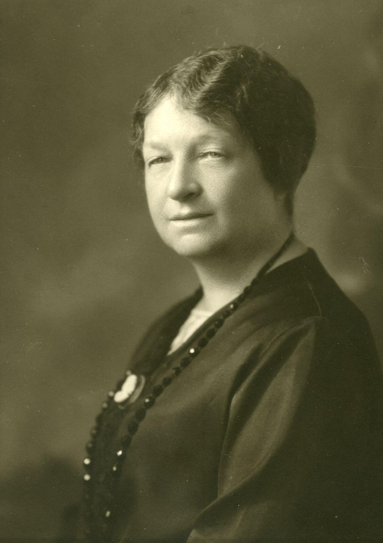 Marie Gérin-Lajoie (née Lacoste) en 1928.