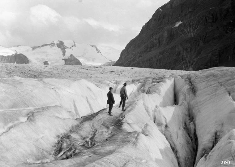 Glacier sur le mont Robson