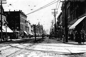 Yonge Street in 1912