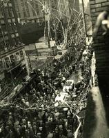 Marilyn Bell, parade, c 1954