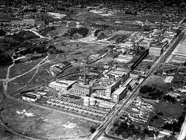 Union Stockyards, Aerial View