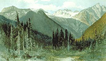 Rogers Pass (Painting)