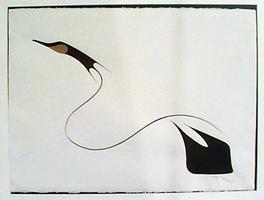 Goose in Flight