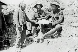 Tom Longboat, military career