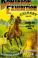 Stampede de Calgary, affiche du