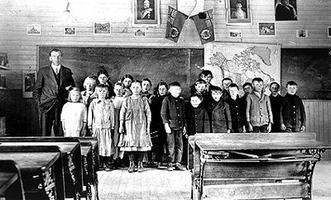 Prairies, salle de classe des (1915)