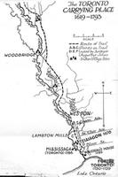 Carrying Place Trail Map