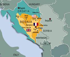 Bosnia, Map 2