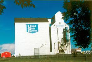 Élévateur à grains, Camrose