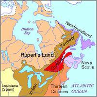 Royal Proclamation, Map