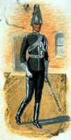 Uniforme du garde du corps du gouverneur général