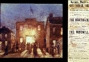 Theatre at Toronto, 1830s