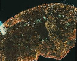 Gaspésie (image-satellite)