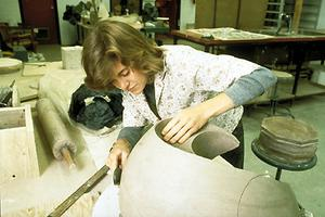 Banff Centre, atelier de céramique