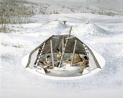 Maison semi-souterraine