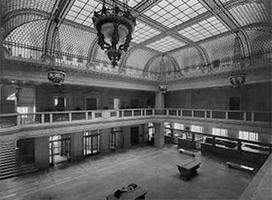 Interior of Bank of Toronto