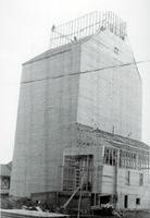 Élévateur à grains en construction