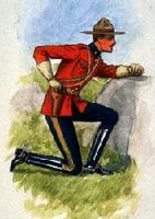 Uniforme : police à cheval du Nord-Ouest