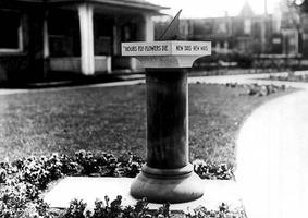 St James Cemetery Sundial
