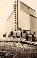 Élévateur à grains à Margo, Saskatchewan