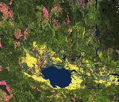 Lac Saint-Jean, Aerial