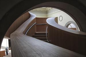 Interior Staircase of the AGO