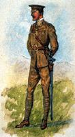 Uniforme: 24e Kent Regiment