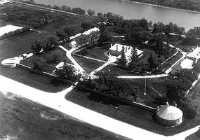 Lower Fort Garry from the Air