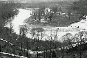 Railway Tracks Along the Humber River