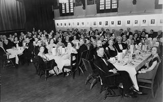Dinner at the Arts and Letters Club
