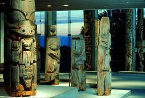 Museum of Anthropology, Haida Poles