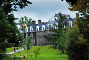 The Old Arts Building, University of New Brunswick campus