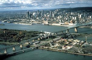 Montréal from the Air