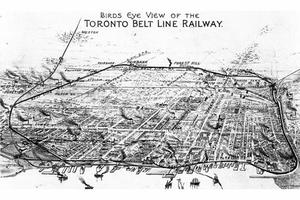 Belt Line Railway Map