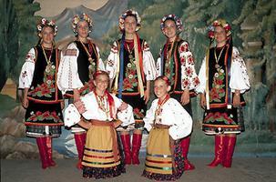 Danseurs ukrainiens