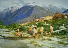 Bella Coola Village