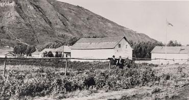 The Gardens at Dunvegan, c 1900