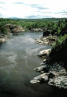 Saguenay River near Jonquière