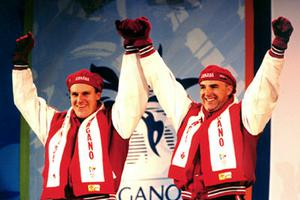 Lueders, Pierre et Dave MacEachern