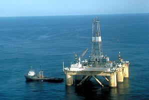 Oil Rig, Grand Banks